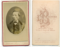 CDV L Bouhier à Nantes Circa 1880 - Personnes Anonymes