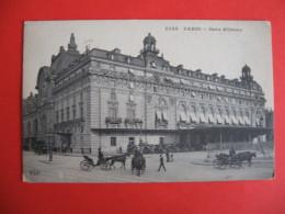 CPA PARIS  GARE D'ORSAY  ANIME  -  C  1883 - Non Classés