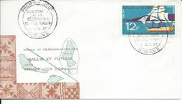 ZWFFDCPA031 - RARE - WALLIS ET FUTUNA Enveloppe FDC Premier Jour 1967 - N° 31PA (YT) - Bicentenaire Découverte De WALLIS - Wallis And Futuna