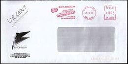 France Bischheim 2006 / Ville De Bischheim / TGV, Trains / Coat Of Arms / Machine Stamp - Trains