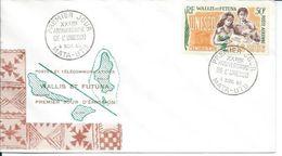 ZWFFDCPA026 - WALLIS ET FUTUNA Enveloppe FDC Premier Jour 1966 - N° 26PA (YT) - LES 20 ANS De L'UNESCO - Belle Valeur - Wallis And Futuna