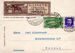 Venezia - G. Linetti - Lavorazione Cuoi Artistici - - Venezia