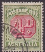 Australia Postage Due Stamps SG D116 1938 Four Pennies Used - Postage Due
