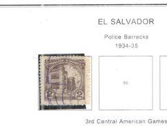 El Salvador 1934/5 Police  Scott.535 Valori  Usati/Nuovi See Scans - El Salvador