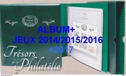 Pack Tresor De La Philatélie 2014/2015/2016/2017/2018+ Album + étui - Pré-Imprimés