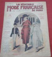 La Véritable Mode Française De Paris N° 56 Février 1920 Vêtements Et Coiffure De Première Communion - Mode