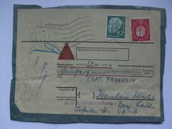 GERMANY - 1959 Parcel Piece - Packchen - BRD