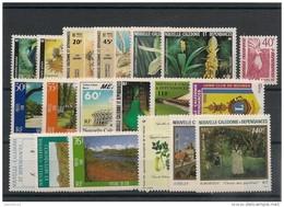 NOUVELLE CALÉDONIE Année 1986 Complète N°Y/T :512/530** Côte 48,00 € - Nueva Caledonia