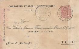 Sant'Apollinare. 1917. Annullo Frazionario ( 19 - 87 ),  Su Cartolina Postale - Poststempel