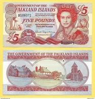 Falkland Islands 5 Pounds P-17 2005 UNC - Isole Falkland