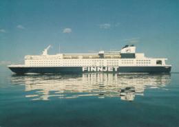 """""""Finnjet"""",Travemünde-Helsinki,ungelaufen - Fähren"""