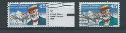 Verenigde Staten   Luchtpost   Y /T  112  (O)  Met Kleurenvariïteit - 3a. 1961-… Usati