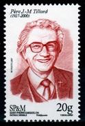 Saint Pierre And Miquelon, J.-M. Tillard, Catholic Priest, 2017, MNH VF - Unused Stamps