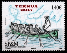 Saint Pierre And Miquelon, Trainera (French : Traînière), Traditional Boat, 2017, MNH VF - Nuovi