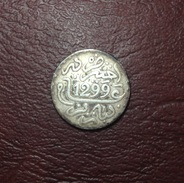 MAROC - Hassan Ier - 1 DIRHAM AH 1299 / 1882 - Paris - Marocco
