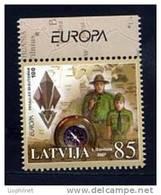 LETTONIE 2007, EUROPA, SCOUTS, 1 Valeur, Neuf / Mint. R1221 - Europa-CEPT