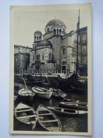 TRIESTE Vecchia Cartolina Canale Chiesa Ortodossa Barche Vela 22640 - Trieste