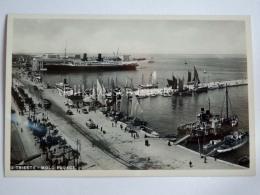TRIESTE Vecchia Cartolina Molo Audace Piroscafo Nave Ship 2 - Trieste