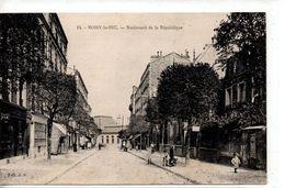 Seine Saint-Denis : Noisy Le Sec : Boulevard De La République - Noisy Le Sec