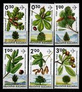 (009) Bulgaria / Bulgarie  Plants / Trees / Flora / Arbres / Bäume  ** /  Mnh Michel 4001-06 - Unclassified