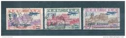 Colonie Timbres De Tunisie PA De 1930  N°10 A 12   Oblitérés - Luchtpost