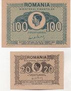ROUMANIE   LOT DE 2 BILLETS  1945 - Roumanie