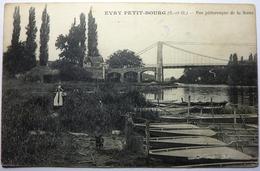 VUE PITTORESQUE DE LA SEINE - EVRY PETIT BOURG - Evry