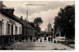 Pas De Calais : Isbergues : Rue De L'Eglise - Isbergues