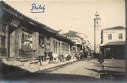 -ref V271- Carte Photo -macedoine - Guerre 1914-18- Prilep - The Clock  Tower  - Carte Bon Etat  - - Macedonia