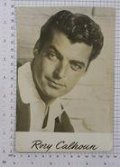 RORY CALHOUN - Vintage PHOTO Autograph REPRINT (SF-09) - Reproductions