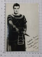 UMBERTO BORSO - Vintage PHOTO Autograph REPRINT (SF-10) - Reproductions