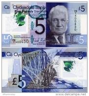 SCOTLAND - CB      5 Pounds    Comm.     P-229N       13.2.2015       UNC - [ 3] Scotland