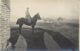 -ref V264- Carte Photo- Macedoine  - Guerre 1914-18- Prilep -docteur Fouck Medecin Chef De L Ambulance De Prilep- - Macedonia