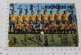 EINTRACHT BRAUNSCHWEIG Football Club - Vintage ADIDAS PHOTO Autograph REPRINT (SF-12) - Reproductions