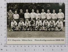 F.C.BAYERN MUNCHEN Football Club - Season 1968-1969 - Vintage PHOTO Autograph REPRINT (SF-14) - Reproductions