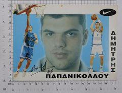 KOSTAS PAPANIKOLAOU - Vintage NIKE PHOTO Autograph REPRINT (SF-15) - Reproductions