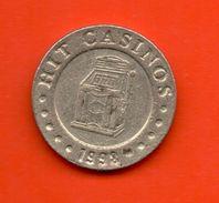FICHAS - MEDALLAS //  ESLOVENIA  Token - CASINO - NOVA GORICA 1998 - Casino