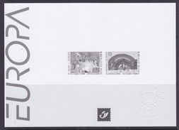 Europa Cept 2006 Belgium Black & White Sheetlet ** Mnh (36899F) - 2006