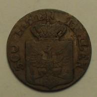 1839 - Allemagne Etat - German State - Prusse - Prussia - 1 PFENNIG, (D) 360 Einen Thaler, Friedrich Wilhelm III, KM 405 - Petites Monnaies & Autres Subdivisions