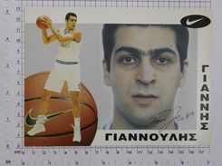 GIANNIS GIANNOULIS - Vintage NIKE PHOTO Autograph REPRINT (SF-16) - Reproductions