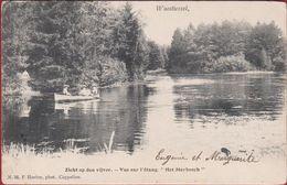 Wuustwezel Wuestwezel Zicht Op Den Vijver Het Sterbosch Kasteel Sterbos (in Zeer Goede Staat) Hoelen Cappellen ZELDZAAM - Wuustwezel