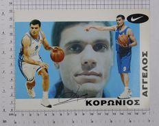 EVANGELOS KORONIOS - Vintage NIKE PHOTO Autograph REPRINT (SF-19) - Reproductions