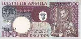 BILLETE DE ANGOLA DE 100 ESCUDOS DEL AÑO 1973 EN CALIDAD EBC (XF) (BANKNOTE) - Angola