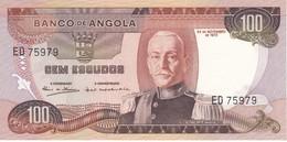 BILLETE DE ANGOLA DE 100 ESCUDOS DEL AÑO 1972 EN CALIDAD EBC (XF)(BANKNOTE) - Angola