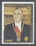 Wallis And Futuna, Georges Pompidou, President Of The French Republic, 2011, MNH VF - Wallis And Futuna