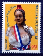 "Wallis And Futuna, ""Marianne"" Symbol Of The French Republic, 2017, MNH VF - Wallis And Futuna"