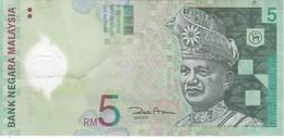 BILLETE DE MALASIA DE 5 RINNGIT DEL AÑO 2004 (BANKNOTE) POLIMERO - Malasia