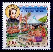 Wallis And Futuna, Peter Chanel, Catholic Priest And Missionary, 2017, MNH VF - Wallis And Futuna
