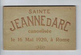 CPa Patriotique Religieux Canonisation De Sainte Jeanne D'Arc 16 Mai 1920 Rome Carnet Album De 15 CPA Rare - Autres
