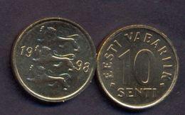Estonia 10 Senti 1998 UNC - Estonia